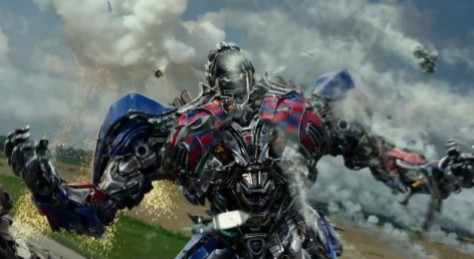"Cena de ""Transformers 4 - A Era da Extinção"", do diretor Michael Bay"